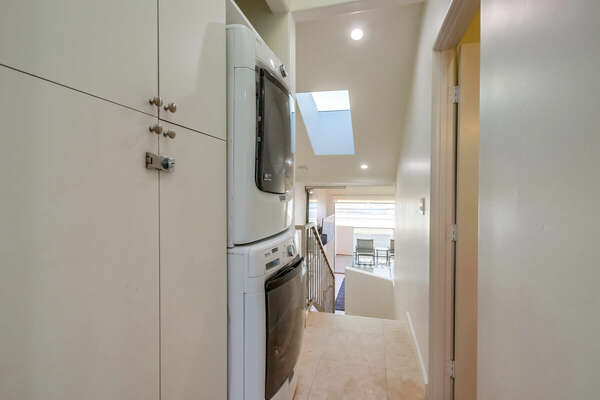 Washer/Dryer - Top Level Hall