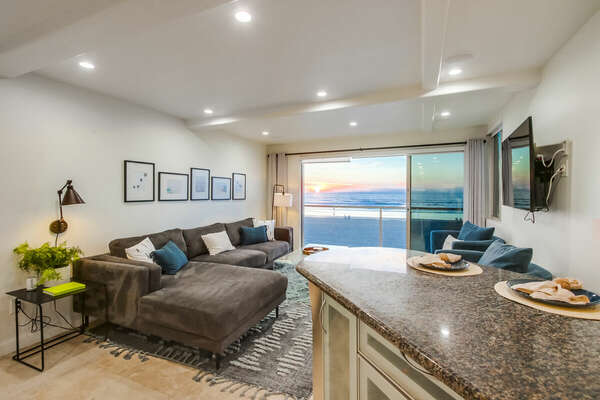 Living Room - Lower Level