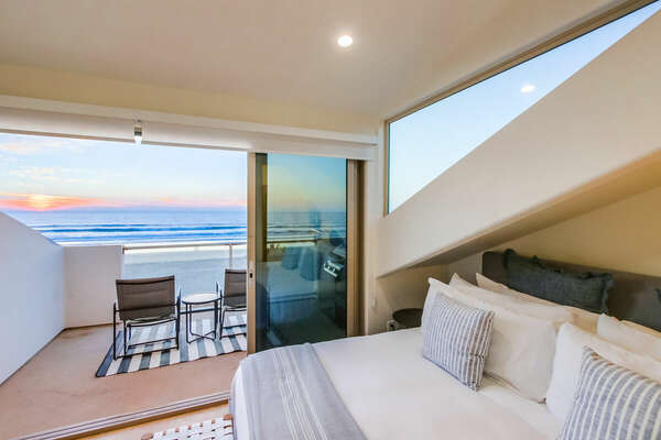 King Master Suite with Ocean Views