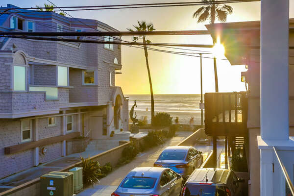 Ocean View from our San Diego Vacation Home Rental.