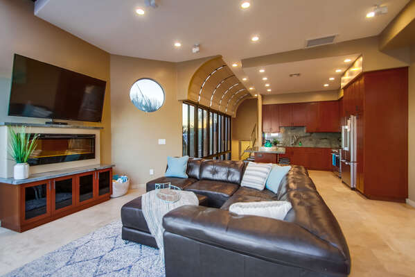 Open Floor Plan in Mission Bay Vacation Rental.