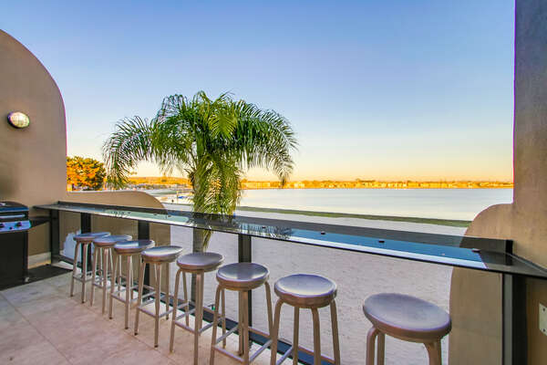 Bayfront Patio with BBQ