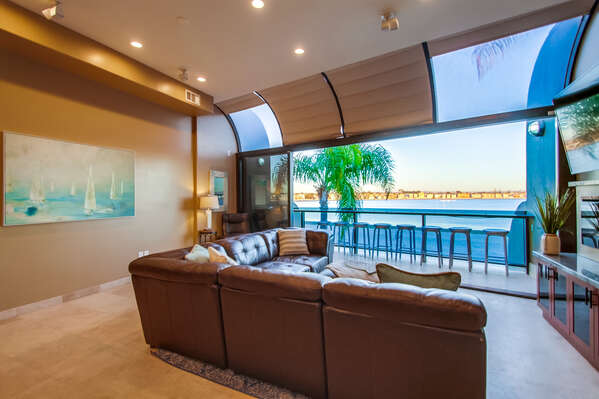 Enjoy Beautiful Views From Living Area.