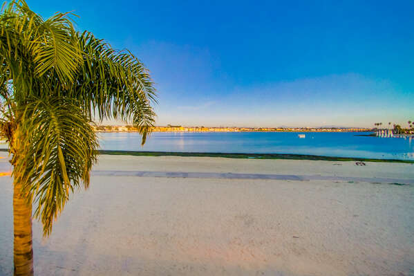 Enjoy Bayfront Views From Mission Bay Vacation Rental.
