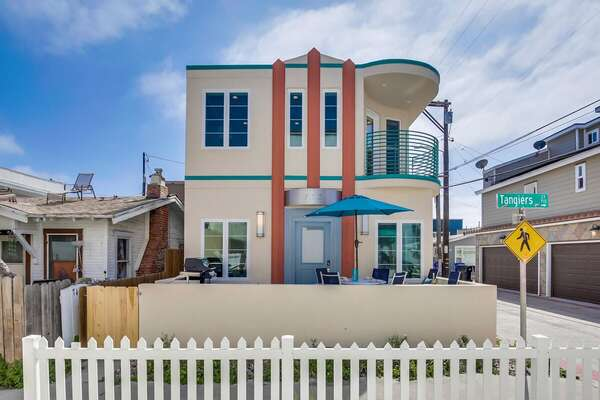 Exterior Image of San Diego Vacation Rental.