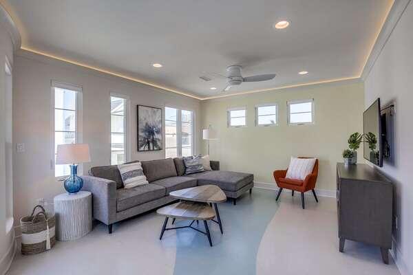 Second Floor Living Room.