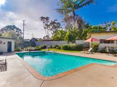 Pool can be heated in winter for an additional heating charge.
