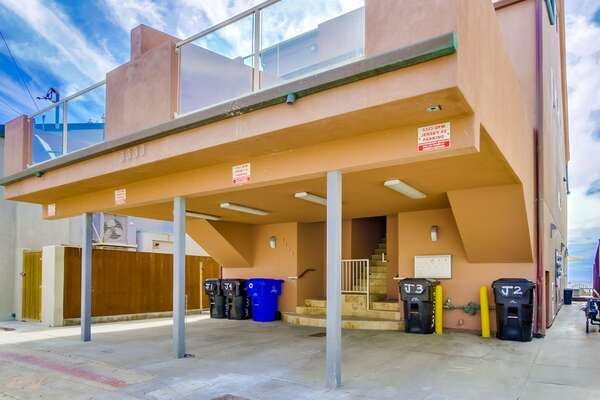 1 Parking Space of this San Diego vacation home rental