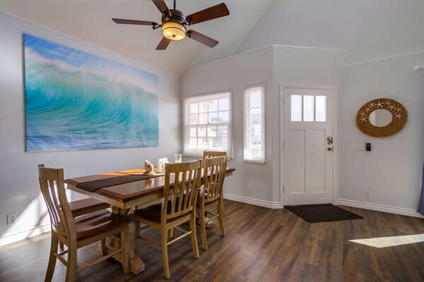 Entryway and Dining Area
