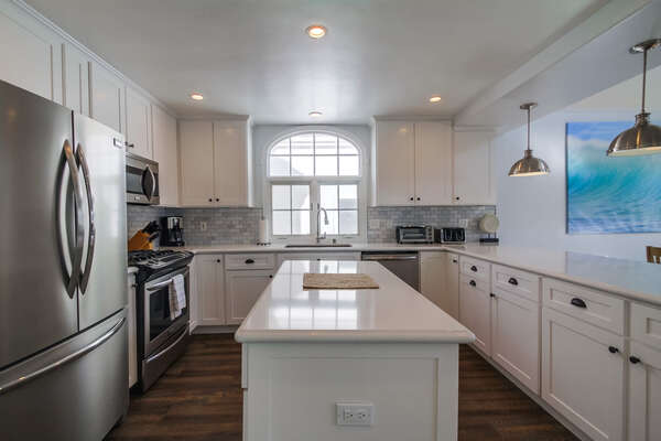 Completely remodeled Kitchen with state of the art appliances
