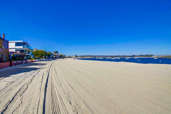 Bayside beach across the street from SANLUISREY732