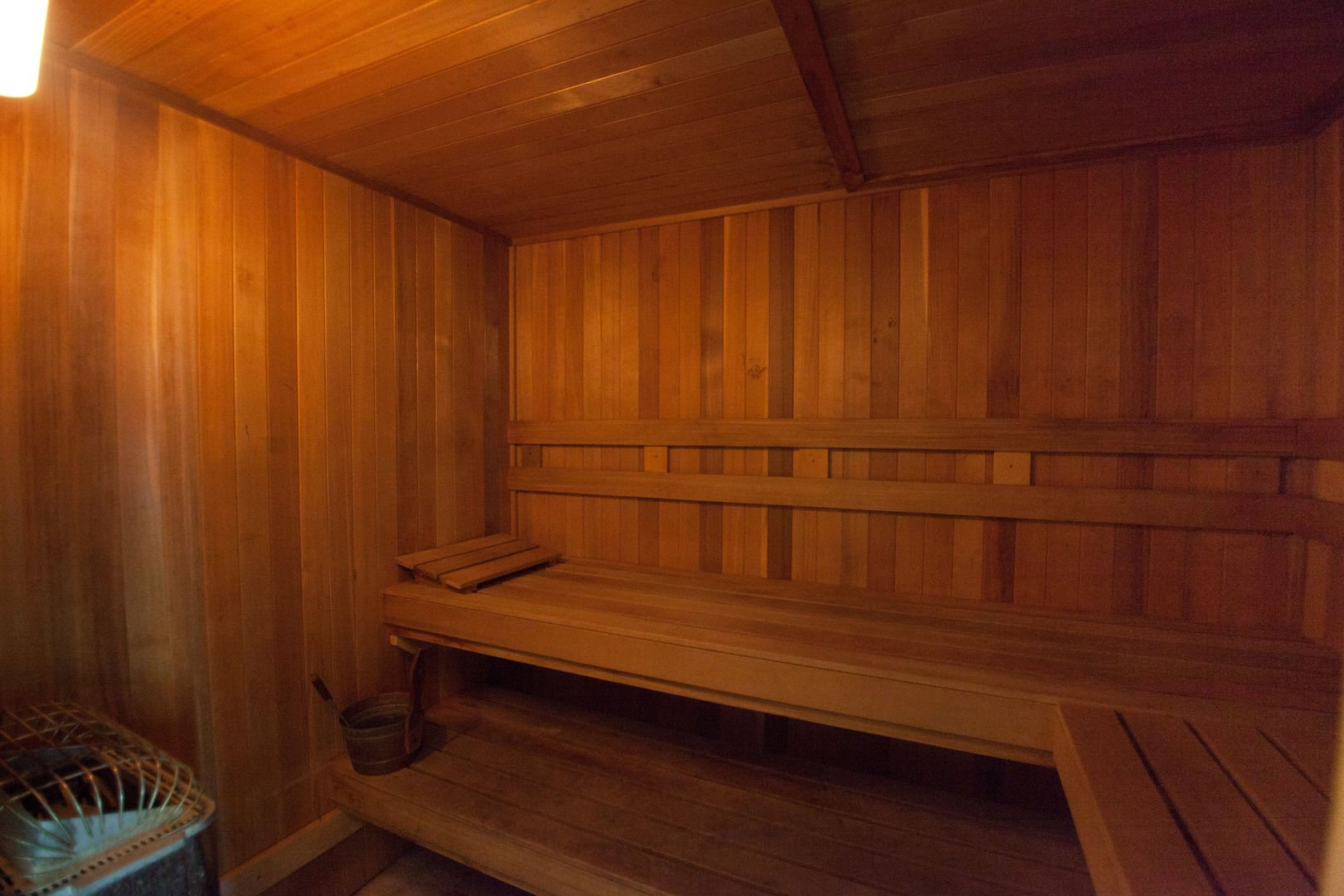 Picture of the Sauna.