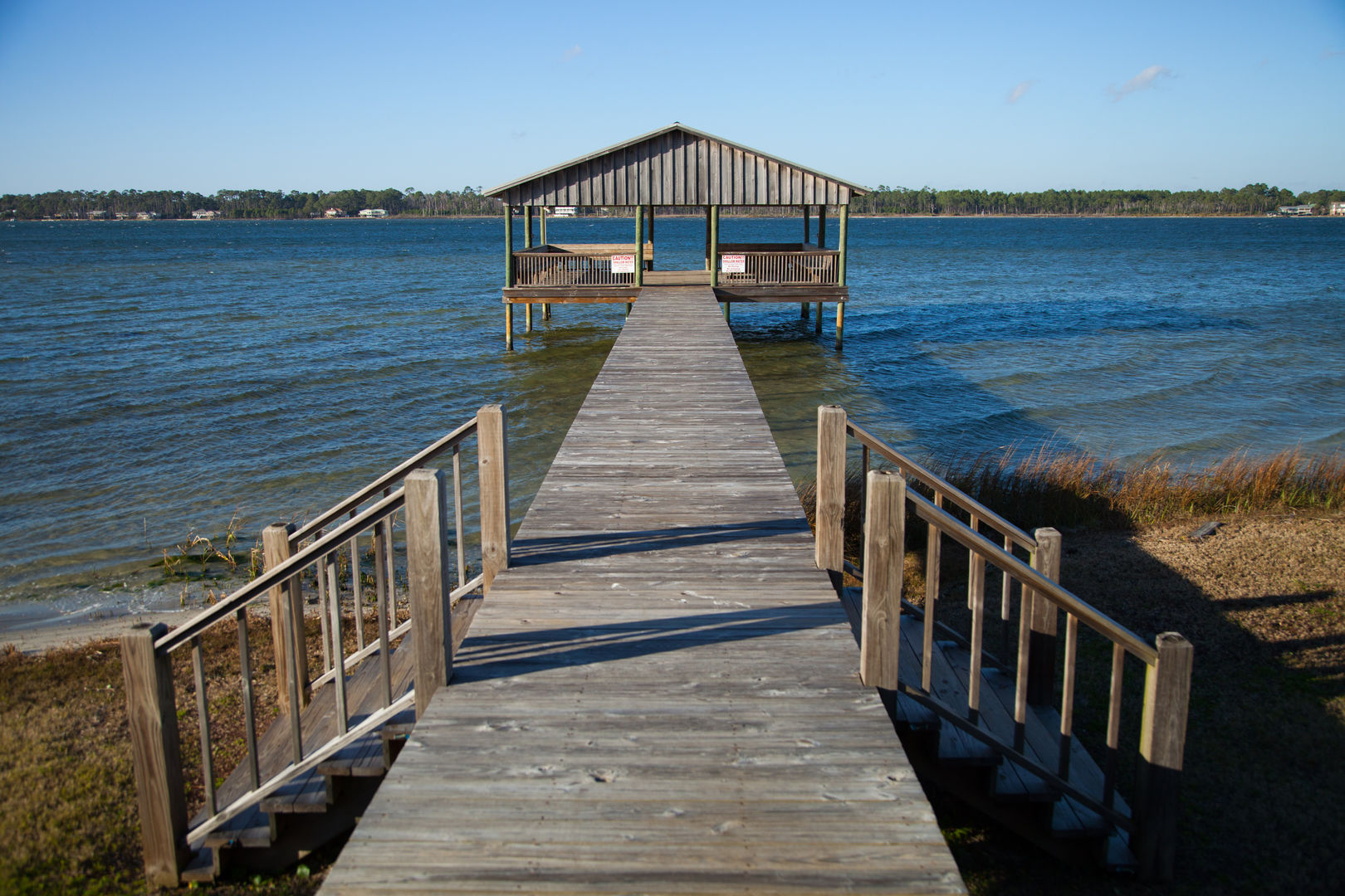 Lagoon Access with Pier.