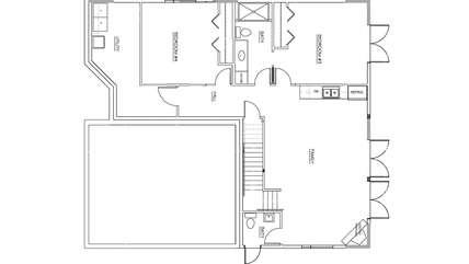 Floor Plan - Lower Floor
