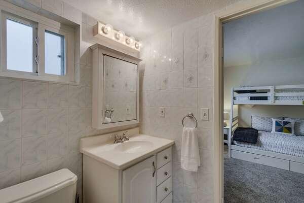 First Floor Jack and Jill Bathroom