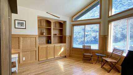 Office/Den with Murphy bed in the Main House