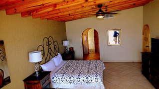Master Bedroom.  Cali King size bed.  Flat screen TV.  Large walk in closet.  Circular walk in shower.