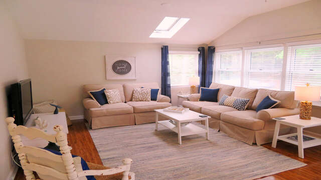 Lots of light and lovely living space-13 Carol Lane West Harwich Cape Cod New England Vacation Rentals