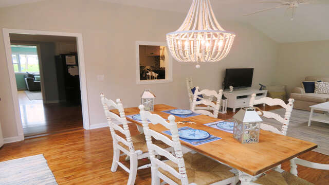 Dining area - 13 Carol Lane West Harwich Cape Cod New England Vacation Rentals
