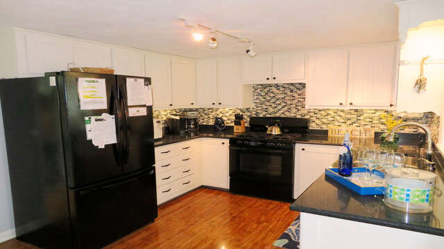 New fully equipped kitchen - 13 Carol Lane West Harwich Cape Cod New England Vacation Rentals