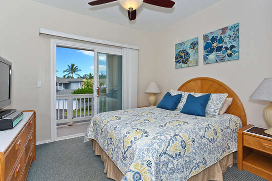 Second Bedroom, with Lanai