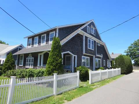 Exterior of Priscilla House- Located in the Village of Chatham - 388 Main Street (The Priscilla House) Chatham Cape Cod New England Vacation Rentals