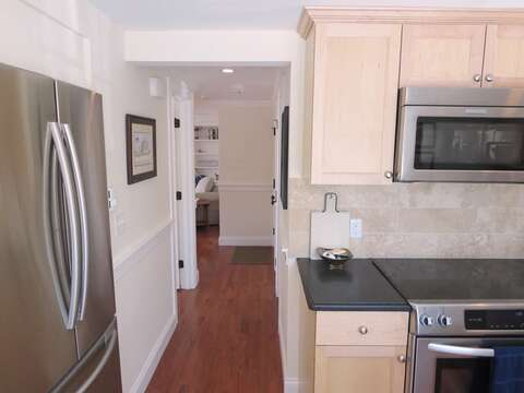 Stainless steel appliances - 109 Misty Meadow Lane #1 Chatham Cape Cod New England Vacation Rentals