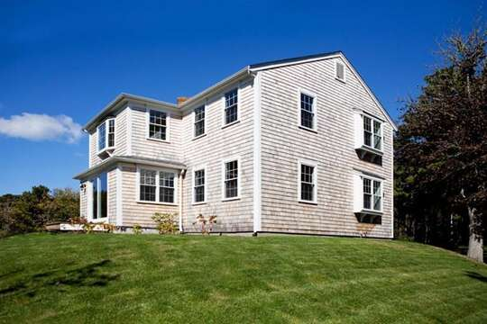 Exterior side of Condo-End Unit. - 109 Misty Meadow Lane #1 Chatham Cape Cod New England Vacation Rentals