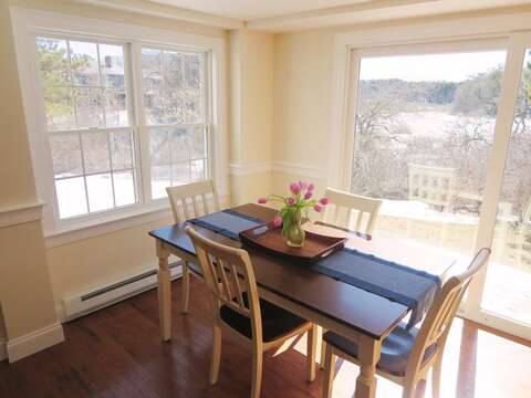 Bright and open dining area. - 109 Misty Meadow Lane #1 Chatham Cape Cod New England Vacation Rentals