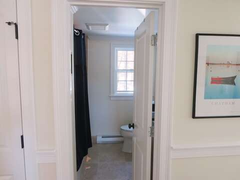 Off Hall full bathroom with tub and shower - 109 Misty Meadow Lane #1 Chatham Cape Cod New England Vacation Rentals