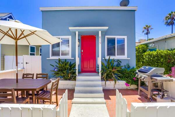 Exterior of San Diego Vacation Rental.