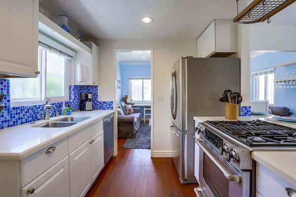 Kitchen in San Diego Vacation Rental.
