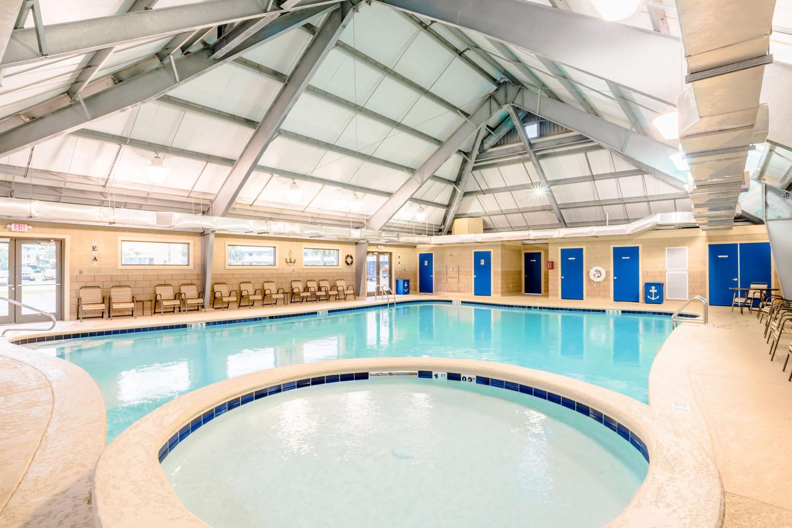 Indoor saltwater kiddie pool