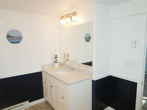 3rd view - En suite bathroom to bonus room on lower level- 93 Pine Ridge Road Chatham Cape Cod New England Vacation Rentals
