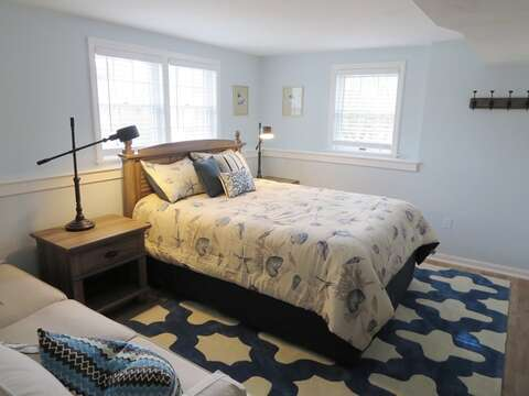 Lower level bonus room with queen bed - 93 Pine Ridge Road Chatham Cape Cod New England Vacation Rentals