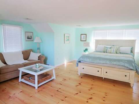 Upstairs with California king bed - 93 Pine Ridge Road Chatham Cape Cod New England Vacation Rentals