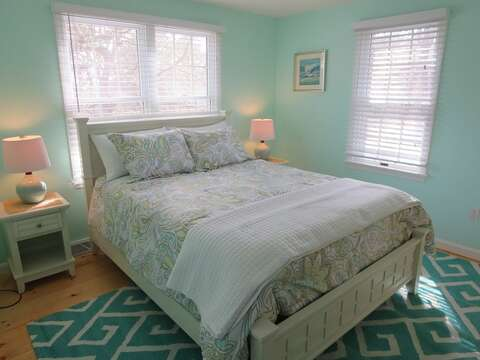 Master on 1st floor with Queen bed and full en suite bath - 93 Pine Ridge Road Chatham Cape Cod New England Vacation Rentals