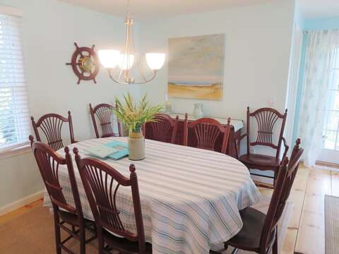 open dining -Plenty of space for entertaining - 93 Pine Ridge Road Chatham Cape Cod New England Vacation Rentals