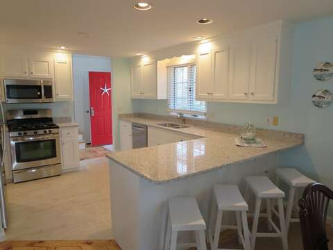 Stainless appliances- open and easy to entertain! - 93 Pine Ridge Road Chatham Cape Cod New England Vacation Rentals