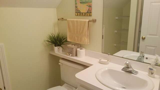 Bathroom with shower on 2nd floor - 93 Pine Ridge Road Chatham Cape Cod New England Vacation Rentals
