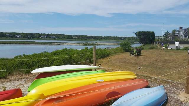 Bucks Creek: A Perfect place to launch your kayak or canoe (Bring one or ask us for help in renting one!) - Chatham Cape Cod New England Vacation Rentals