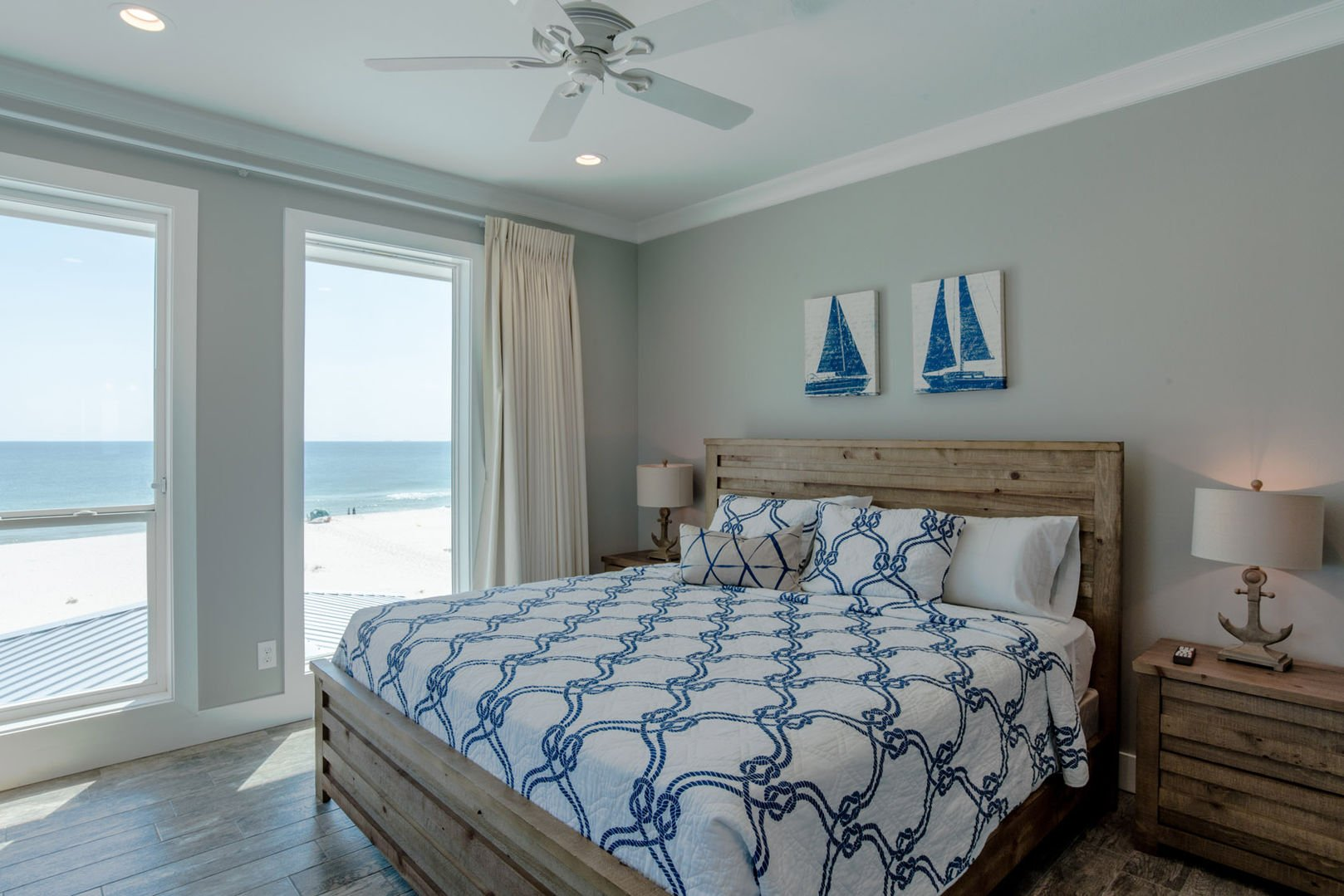 Bedroom 4 Features Nautical Elements