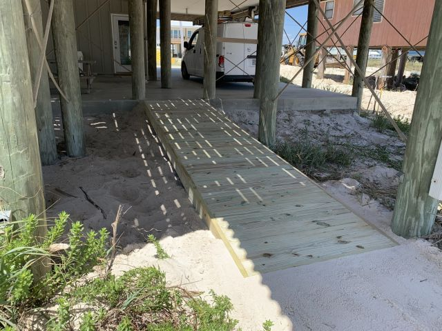 Brand New Wheelchair Ramp at our Vacation Home in Fort Morgan