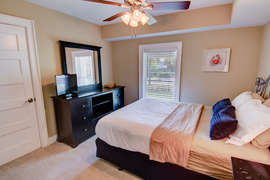 First Floor Queen bedroom with shared Jack-n-Jill