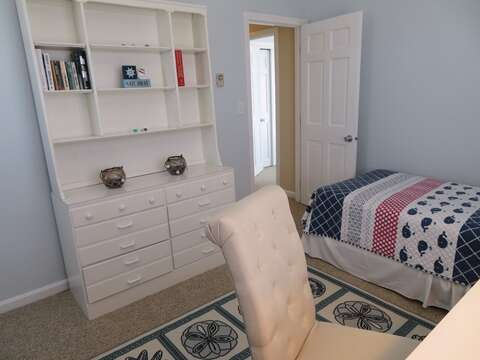 3rd bedroom has deck -great for working on your lap top or writing out a postcard- 53 Little Beach Road Chatham Cape Cod New England Vacation Rentals