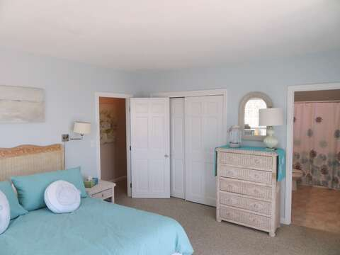 Enter the Master Bedroom at the end of the hall - 53 Little Beach Road Chatham Cape Cod New England Vacation Rentals