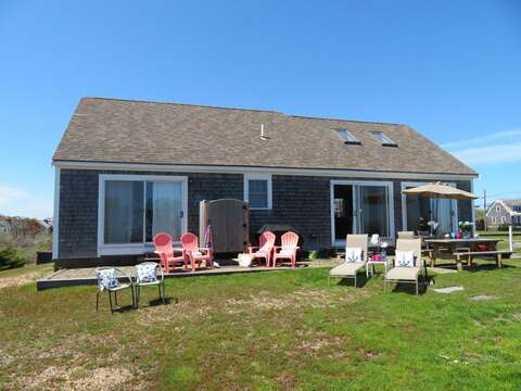 Good size yard- set up some badminton or set up for a round of croquet! 53 Little Beach Road Chatham Cape Cod New England Vacation Rentals