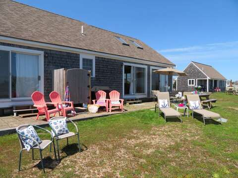 Lots of outdoor seating for your enjoyment! - 53 Little Beach Road Chatham Cape Cod New England Vacation Rentals