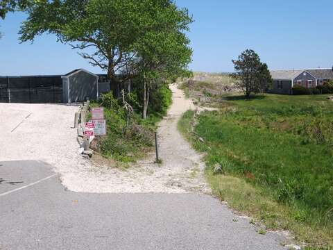 public path to Famous Lighthouse beach less than a 1/2 mile from the cottage! - 46 Little Beach Road Chatham Cape Cod New England Vacation Rentals