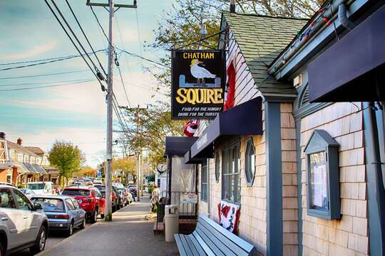 Grab a drink at the Squire! The local watering hole. Also serving lunch and dinner - Chatham Cape Cod - New England Vacation Rentals